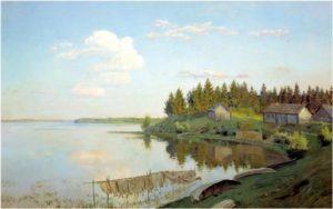 Пейзаж средней полосы России